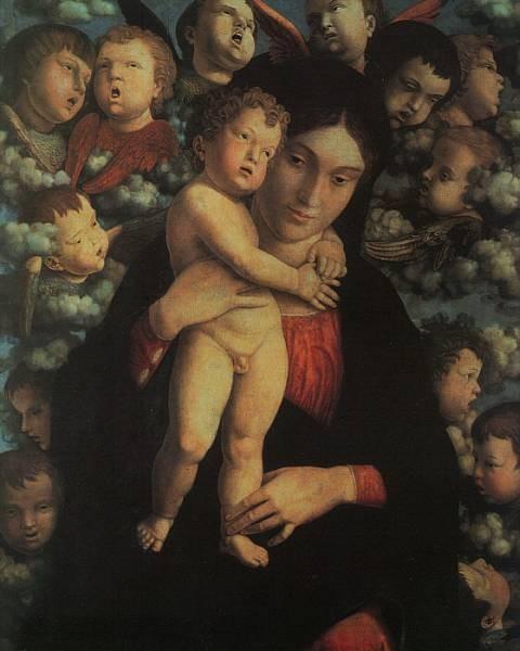 Madonna and Child with Cherubs CGF